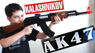 Kalashnikov AK-47 FPS-177 Electric Airsoft Assault Rifle with Robert-Andre!(, 2015-08-04T00:01:55.000Z)