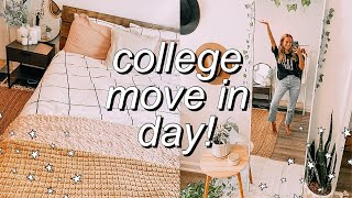 COLLEGE MOVE IN DAY VLOG 2020! | setting up, decorating, organizing, + MORE! | ball state university