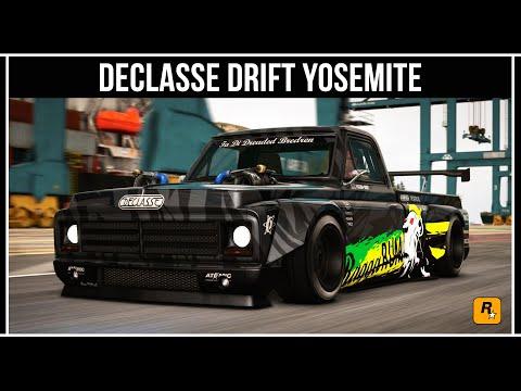 GTA Online: Обзор нового маслкара Drift Yosemite