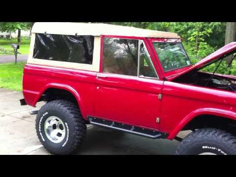 1971 Bronco For Sale