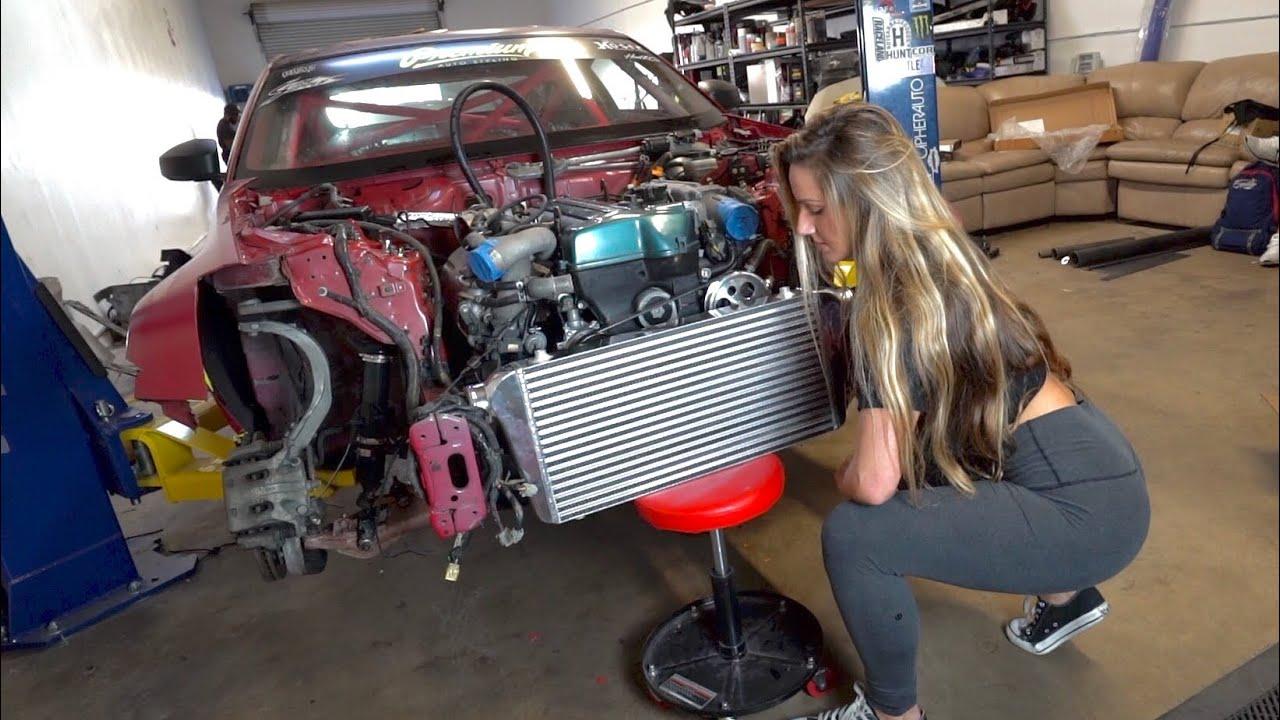 2JZ 350z Car Update - Big turbo? - YouTube