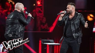 "Mario Szaban i Sebastian Wojtczak - ""End Of The Road"" - Bitwy - The Voice of Poland 9"