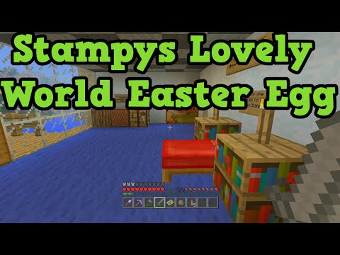 Minecraft Xbox: Stampy's Lovely World Tour - TU19 Easter Egg