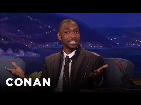 "The First Impression Jay Pharoah Mastered Was Iago From ""Aladdin""  - CONAN on TBS"