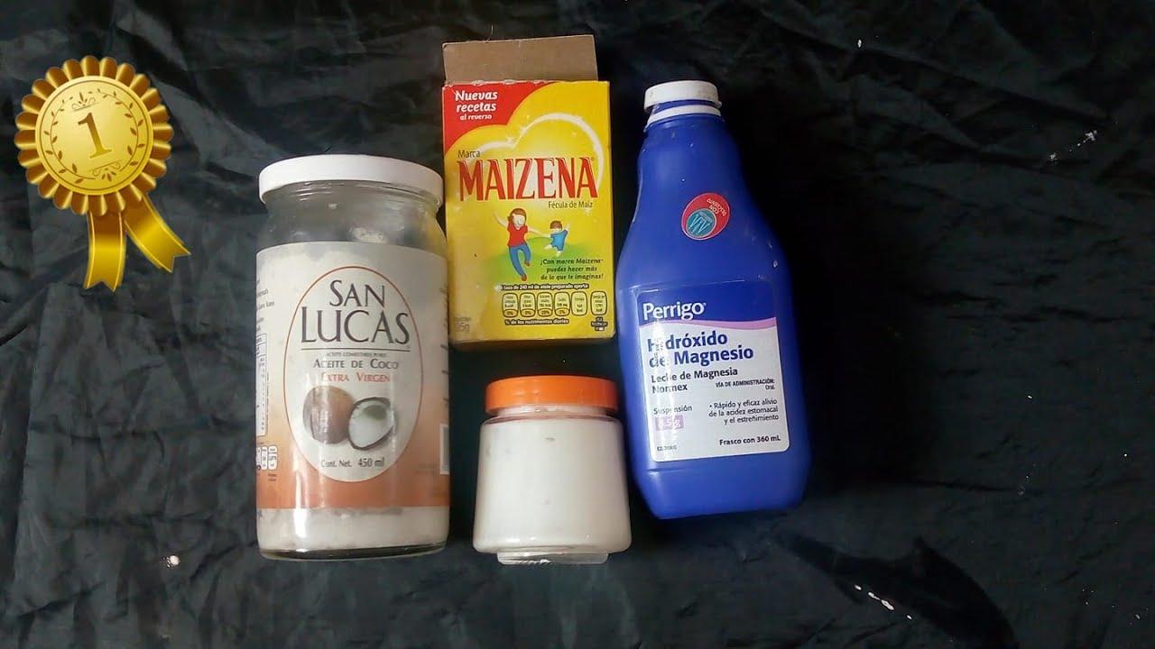 leche de magnesio desodorante