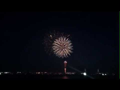 Fireworks Display At Nagoya Port, Nagoya City Japan (ALPHA BOT Live Stream)
