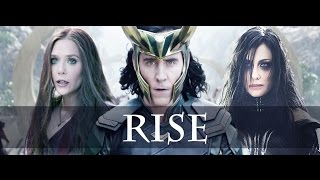 Hela, Loki, Scarlet Witch. (Thor ragnarok)- Rise(State of Mine)