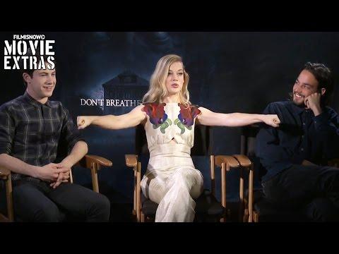 Dylan Minnette 'Alex', Jane Levy 'Rocky' & Daniel Zovatto 'Money' talk about Don't Breathe (2016) streaming vf
