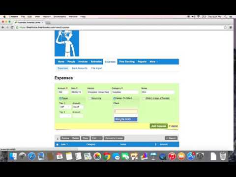 FreshBooks - Tracking Your Expenses