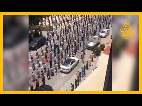 مشهد مهيب لصلاة الجمعة في الأردن ????  - نشر قبل 2 ساعة