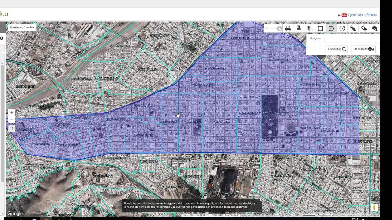 Elección De Zonas De Estudio Inegi Mapas Agebs Manzanas