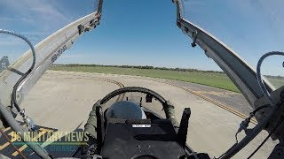 Amazing Footage:  T-38C Talon Do Freedom Flyer Formation (Cockpit View)