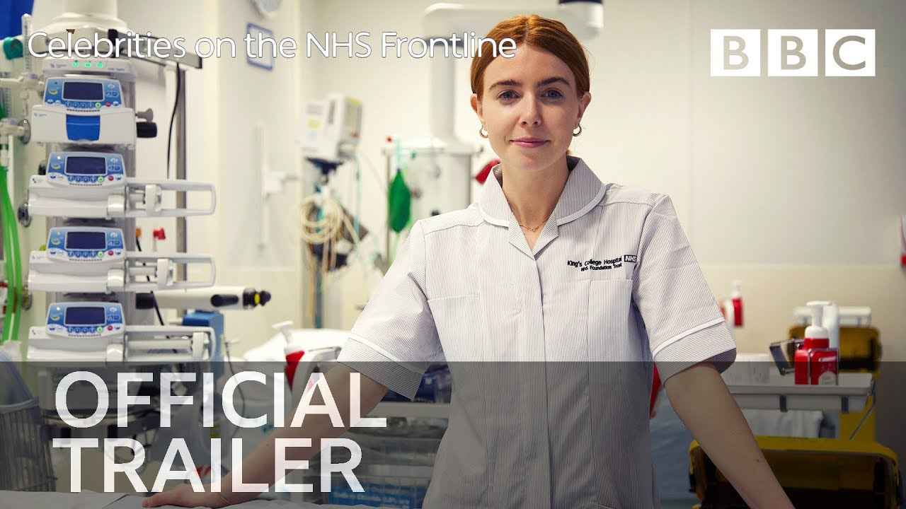 Celebrities on the NHS Frontline: Trailer - BBC