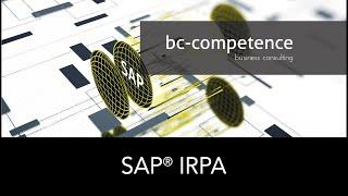 SAP® Intelligent Robotic Process Automation (SAP iRPA)    Robotic Process Automation