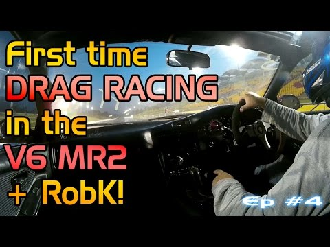 Project V6 MR2 1.4 - Drag Racing feat RobK