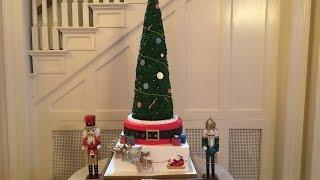 Christmas Tree Shaped Cake | Holiday Dessert Ideas 01 Martine's Pastries, Lexington KY 859 -231 9110