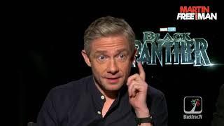 Exclusive: Black Panther on BlackTree Martin Freeman and Andy Serkis LEGENDADO