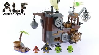 Lego Angry Birds 75825 Piggy Pirate Ship - Lego Speed Build Review