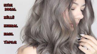 Evde saç boyası nasıl hazırlanır uzmanından öğrenin(3)küllü kumral renk nasıl yapılır/