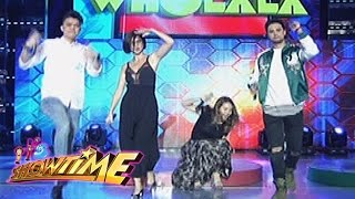 It's Showtime: Karylle slips off while dancing