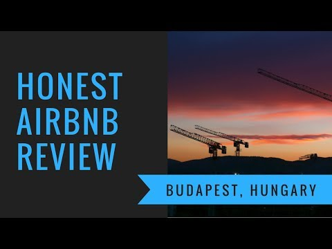 Honest Airbnb Review - Budapest, Hungary - Modern Studio - Angelus House