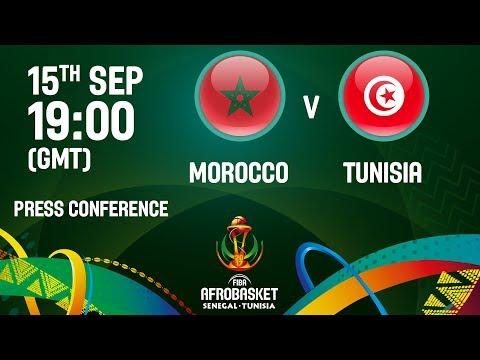 Morocco v Tunisia - Press Conference