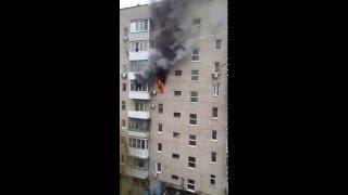 В Батайске сгорела квартира  21.03.2016
