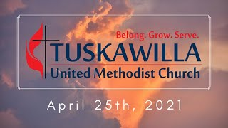 Sunday Worship Service 4.25.21