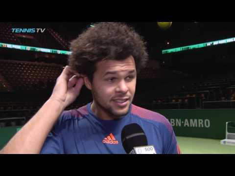 Champion Tsonga Delighted With Rotterdam 2017 Title