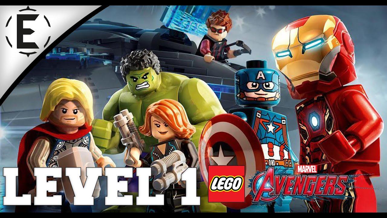 Lego Marvel's Avengers - PS4 Level 1 NL - Vlaams - YouTube