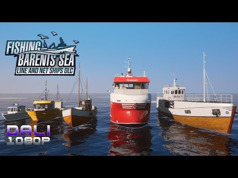 FIRST LOOK Fishing: Barents Sea - Line and Net Ships DLC