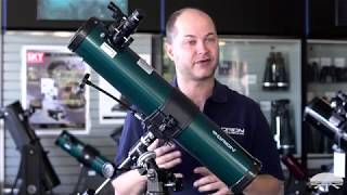 How to Set Up the  Orion SpaceProbe II 76mm Equatorial Reflector Telescope- Orion Telescopes