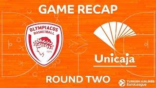 Highlights: Olympiacos Piraeus - Unicaja Malaga