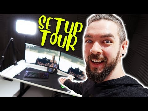 Jacksepticeye's Office Setup Tour from YouTube · Duration:  14 minutes 8 seconds