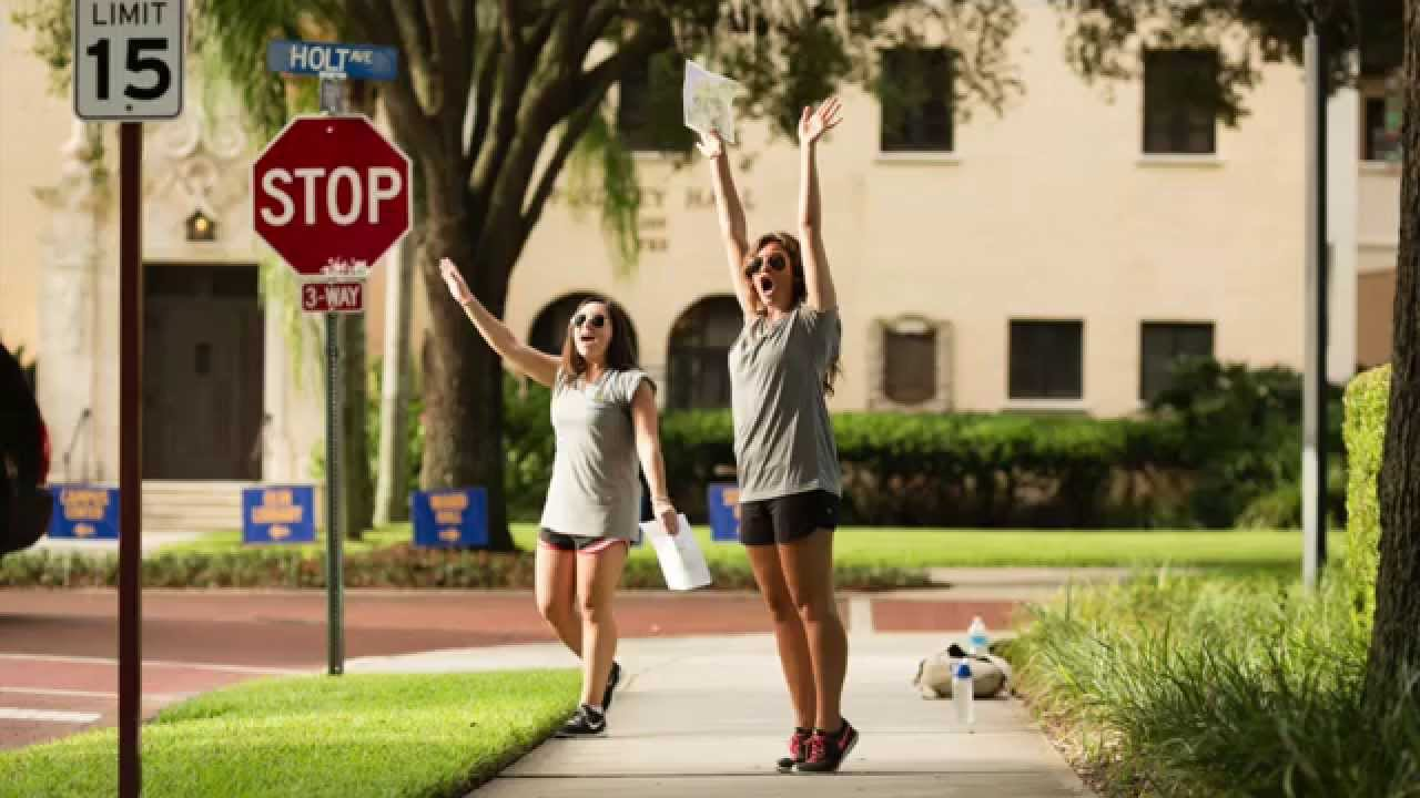 Rollins College Move In Day 2015   YouTube
