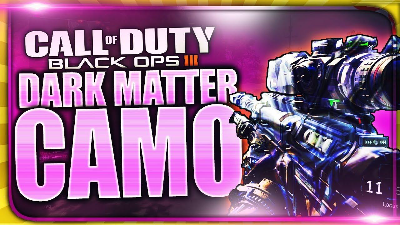 how to get dark matter camo fast