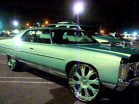 "Outrageous Paint 71"" donk on 26"" asanti (4 door) outrageous paint - youtube"