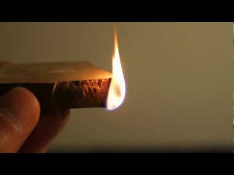 Põlevkivi põletamine (burning oil shale)
