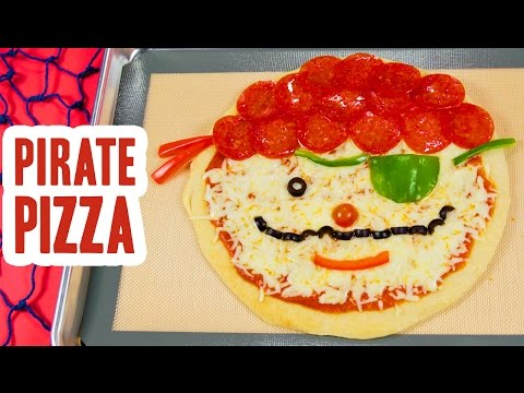 How to Make Pirate Pizza