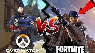 OVERWATCH MEETS FORTNITE?! (COLLABORATION LEAKED)