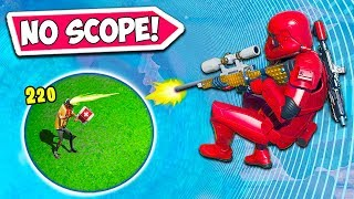 *1 IN 1 BILLION* EPIC NO SCOPE VICTORY!! - Fortnite Funny Fails and WTF Moments! #771