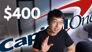 Get $400 now! Capital One Checking Review