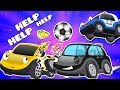 Police Car Fire Truck vs Thief Cars | Emergency Cars Cartoon for kids
