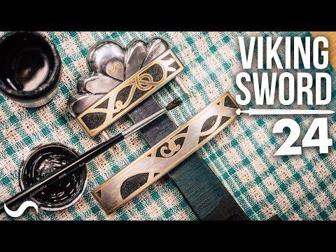 MAKING A VIKING SWORD!!! Part 24