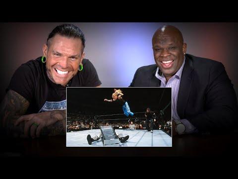 Jeff Hardy & D-Von Dudley rewatch their classic TLC Match: WWE Playback
