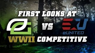 OpTic vs EUnited - First Look at Competitive