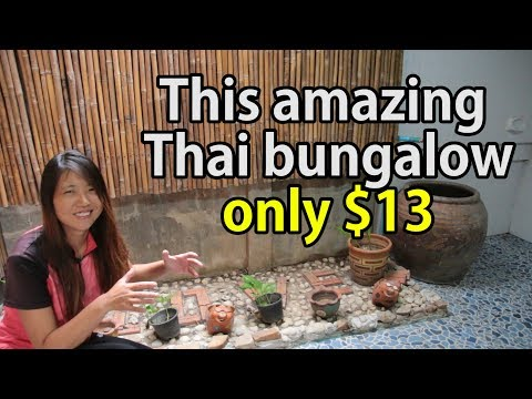 This amazing Thai bungalow is only $13! | Thailand Bungalow, Hotel, Resort  | Travel Tip