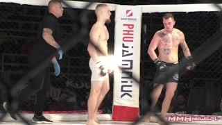 Krzysztof Burz vs Wojciech Skibiński [TKO] | West Fighting MMA 5