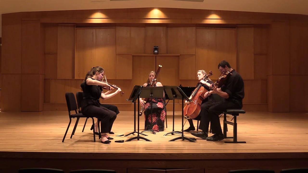 Bill Douglas: Celebration V for Bassoon and Strings, III. Virya