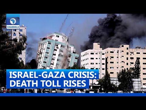 Death Toll Rises As Israel Gaza Crisis Continues